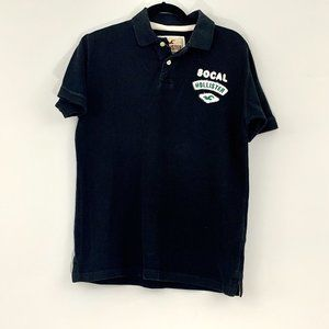 Hollister Polo Shirt for boys, Black